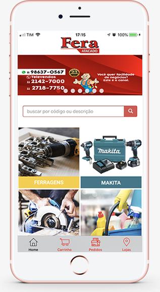 Aplicativo Fera Mobile